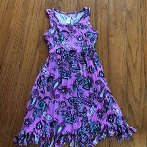 Justice paisley dress